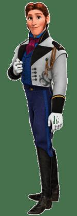 Hans-Frosen-sem-fundo-01 Personagens Frozen