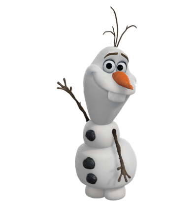 Olaf-Frosen-sem-fundo-04 Personagens Frozen