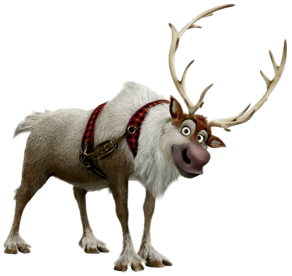 Sven-Frosen-sem-fundo Personagens Frozen