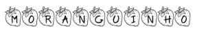 Tipografia-font-KR-Strawberry Fonts da Moranguinho
