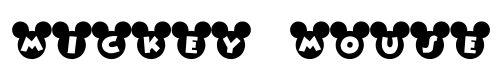 tipografia-Font-Mickey-2 Fonts do Mickey Mouse