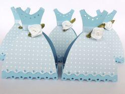 Lembrancinha-Vestido-simples-caixa-para-festa-07 Moldes de Caixinhas Vestido - Princesas, Fadas, Noivas e Debutantes