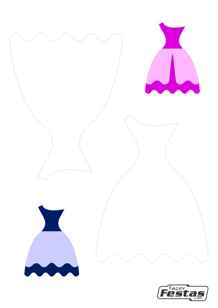 Lembrancinha-caixinha-Vestido-de-uma-alca-molde-01-1 Moldes de Caixinhas Vestido - Princesas, Fadas, Noivas e Debutantes