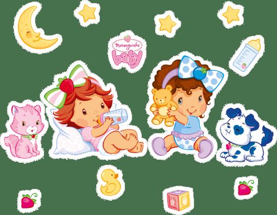 personagens-moranguinho-baby-strawberry-shortcake Imagens da Moranguinho Baby
