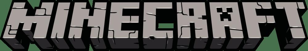 Minecraft-Logo-Fundo-Escuro Logo - Minecraft