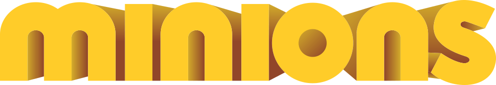 Minions-Logo-3D Logo - Minions