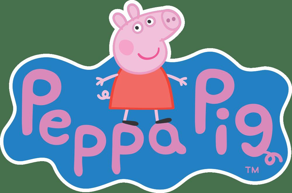 Peppa-Pig-Logo-Fundo-Fundo-Escuro-01 Logo - Peppa Pig