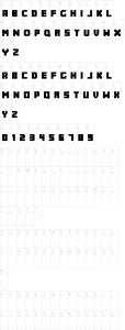 abc-minecrafter Font de Minecraft