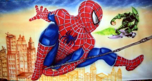 painel-homem-aranha Homem Aranha Festa infantil