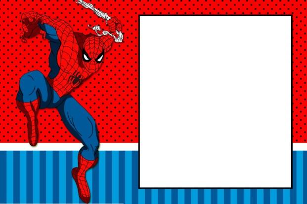 convite-homen-aranha Homem Aranha Festa infantil