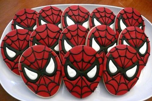 cookies Homem Aranha Festa infantil