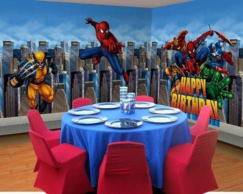 decoração-3 Homem Aranha Festa infantil