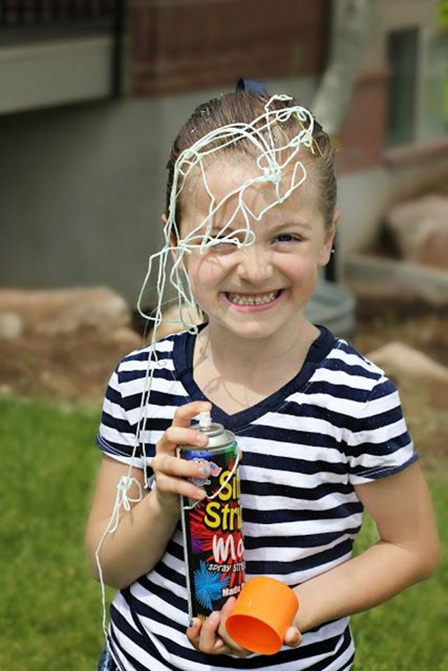 espuma-em-lata Homem Aranha Festa infantil