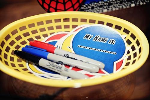 etiquetas Homem Aranha Festa infantil