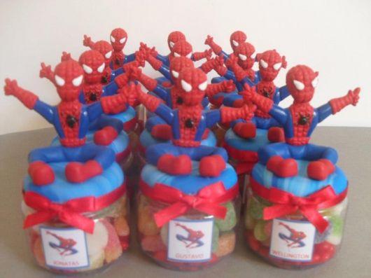 lembrancinha-homem-aranha-passo-a-passo Homem Aranha Festa infantil