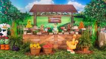 aniverssário-infantil-decoração-tema-festa-fazendinha-28 Idéias para festa Infantil com tema Fazendinha para meninos e meninas