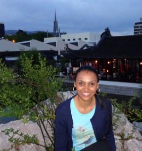 #experiência – Marísia Cristina, Dunedin, NZ