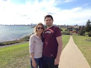 #experiência: Débora e Paulo, Melbourne, AU