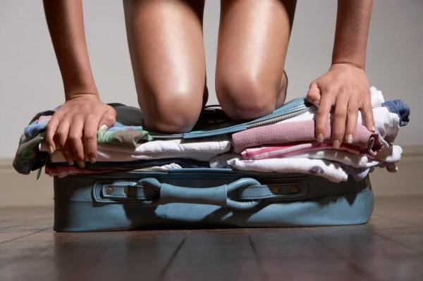 Como arrumar a mala?