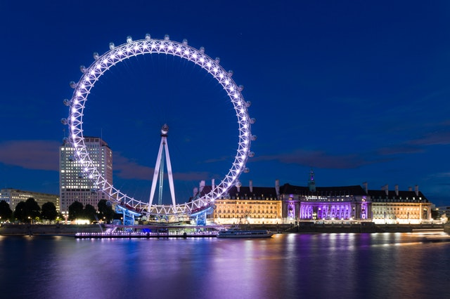 Londres da London Eye