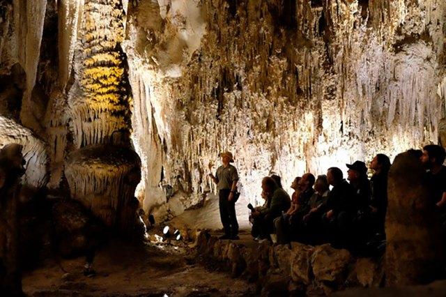 viaje sem sair de casa: cavernas do parque nacional carlsbad caverns