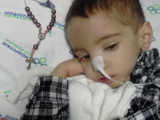 João Pedro estava internado no Hospital Infantil Waldemar Monastier desde fevereiro deste ano (Foto: Avelita Barbosa da Silva/Arquivo pessoal)
