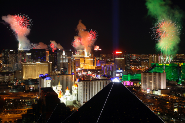 New Year's Eve in Las Vegas
