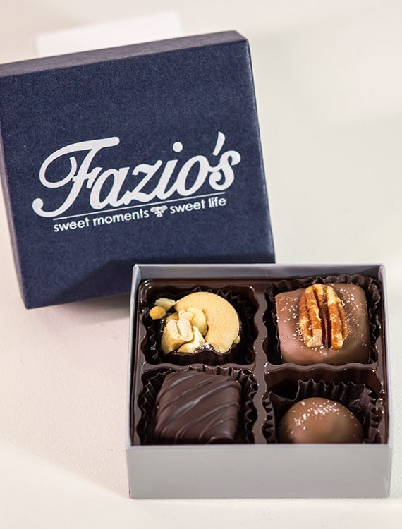 4-Piece Traditional chocolate assortment
