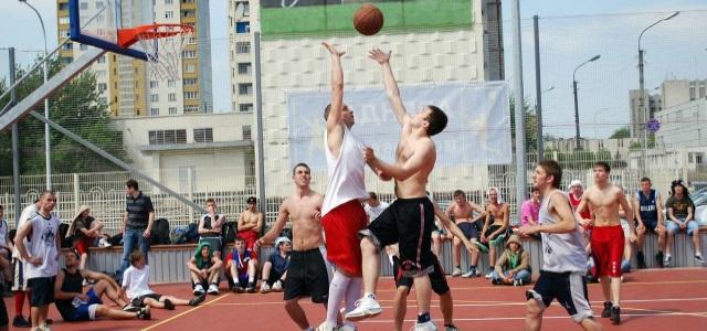 Турнир по стритболу приуроченный к 400-тию города Новокузнецка
