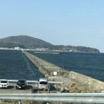 今日お昼の小樽南防波堤