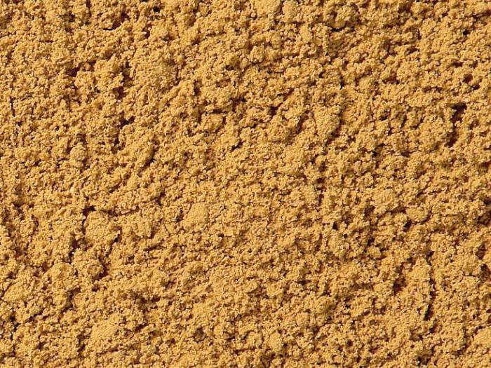чем отличается мытый песок