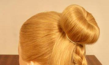 髪のためにベーグルを作る方法
