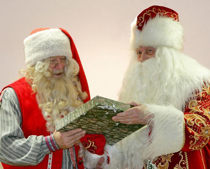 Hoe ziet Santa Claus eruit