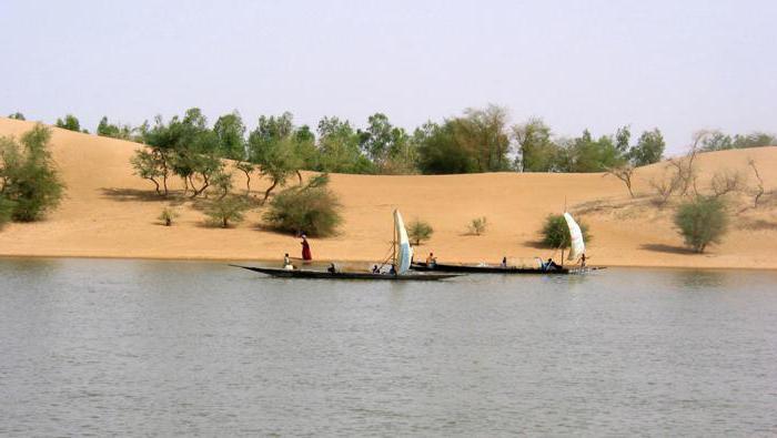 Где находится река нигер