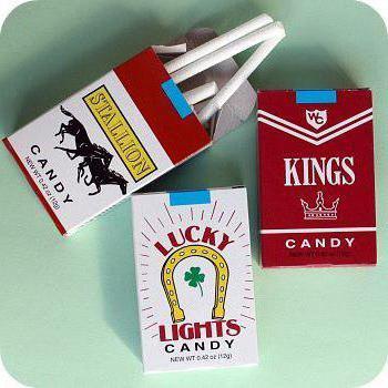 карамельные сигареты купить в