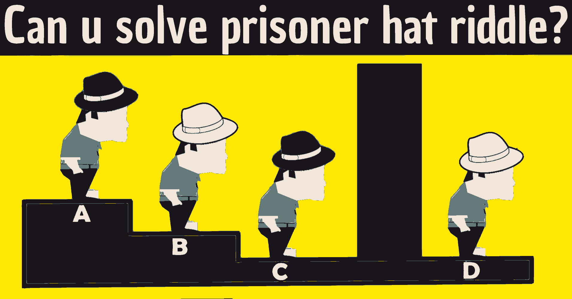 4 Prisoner Hat Riddle Answer Test Your Smarts Riddles With Answers For Kids Adults Quizzes