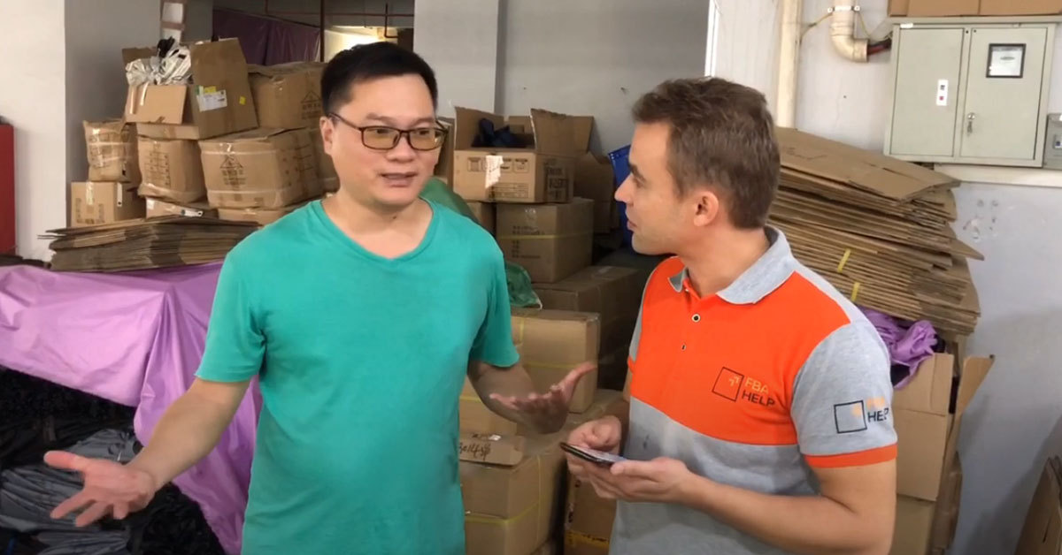 Quality control for Amazon sellers: Direct communication with the inspector