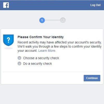Facebook Verifications