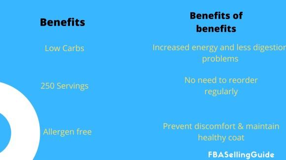 benefits of benefits copywriting