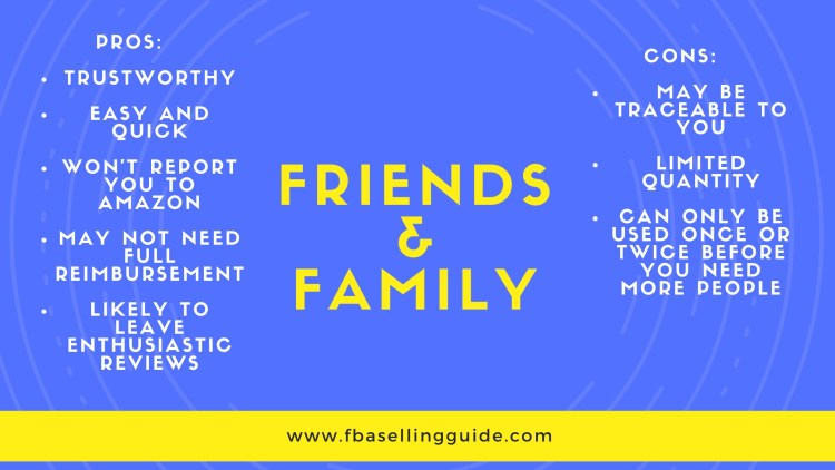 amazon friend and family campaigns