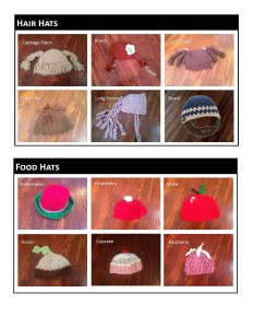 Hair Hats & Food Hats