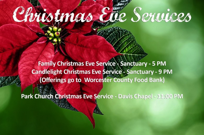 Christmas Eve Services at FBC