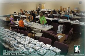 missions work week faith baptist church chelsea