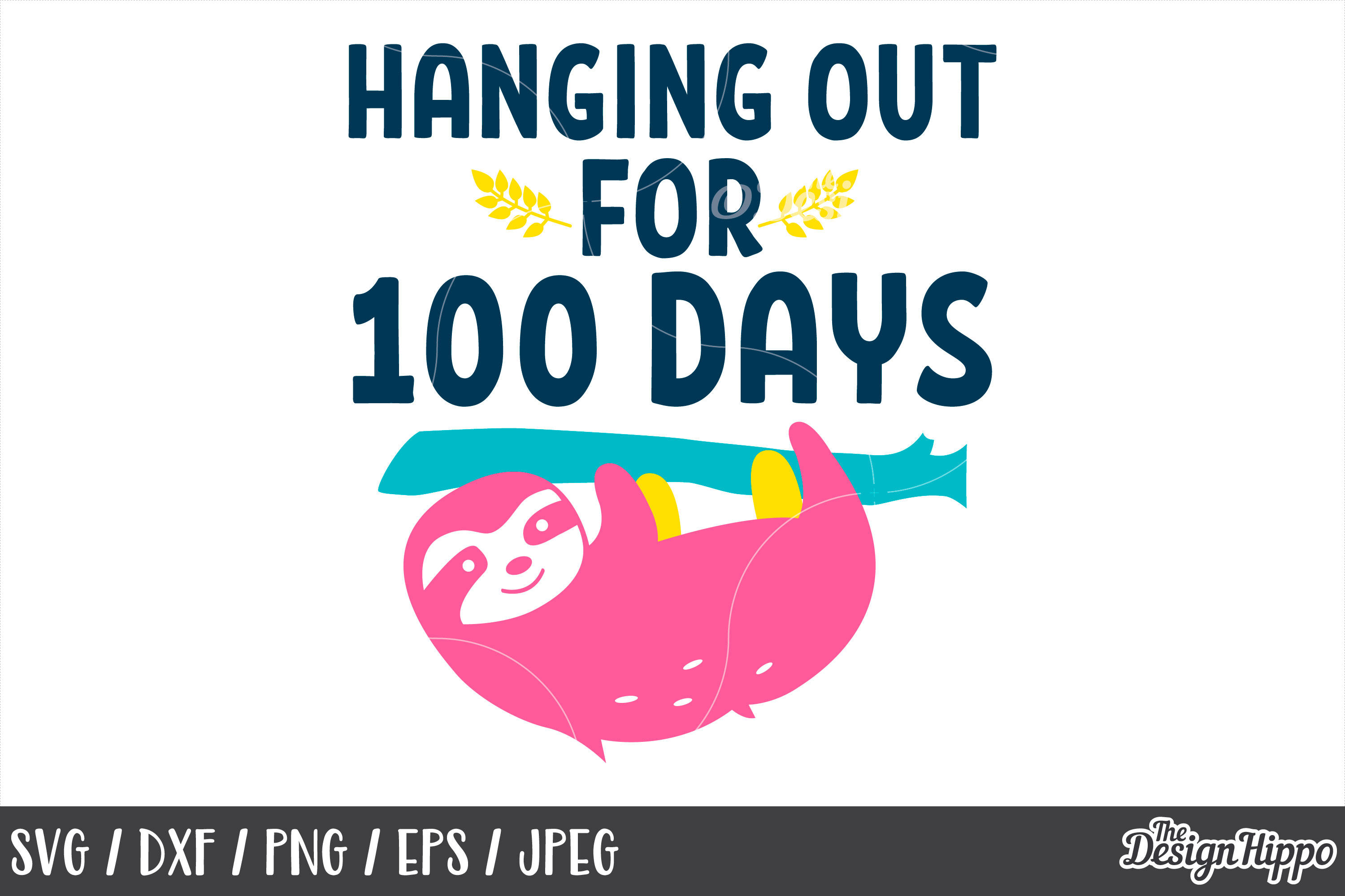 100 Days Of School Svg 10 Designs Bundle Cut Files