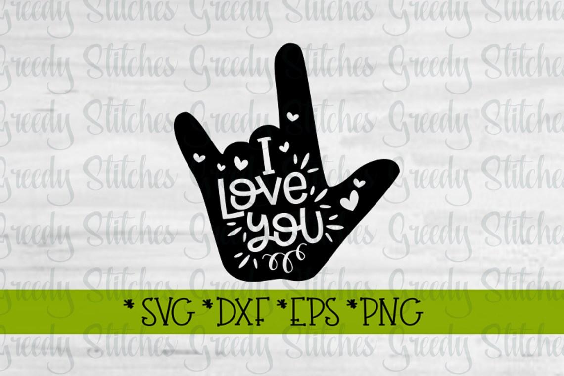Download Valentine's Day | I Love You Sign Language SVG (184987 ...