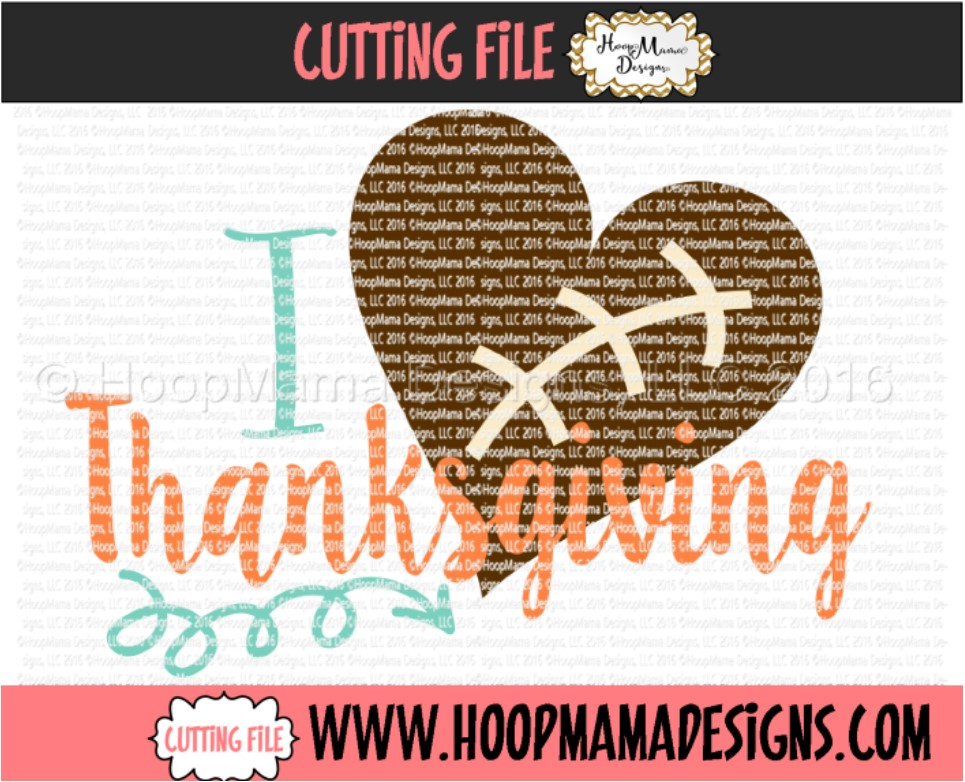 Download I Love Thanksgiving - SVG Cutting File (113512) | SVGs ...