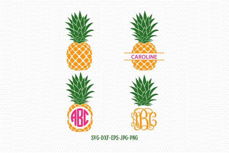 Download Pineapple Svg Pineapple Monogram Frames Svg Pineapple ...