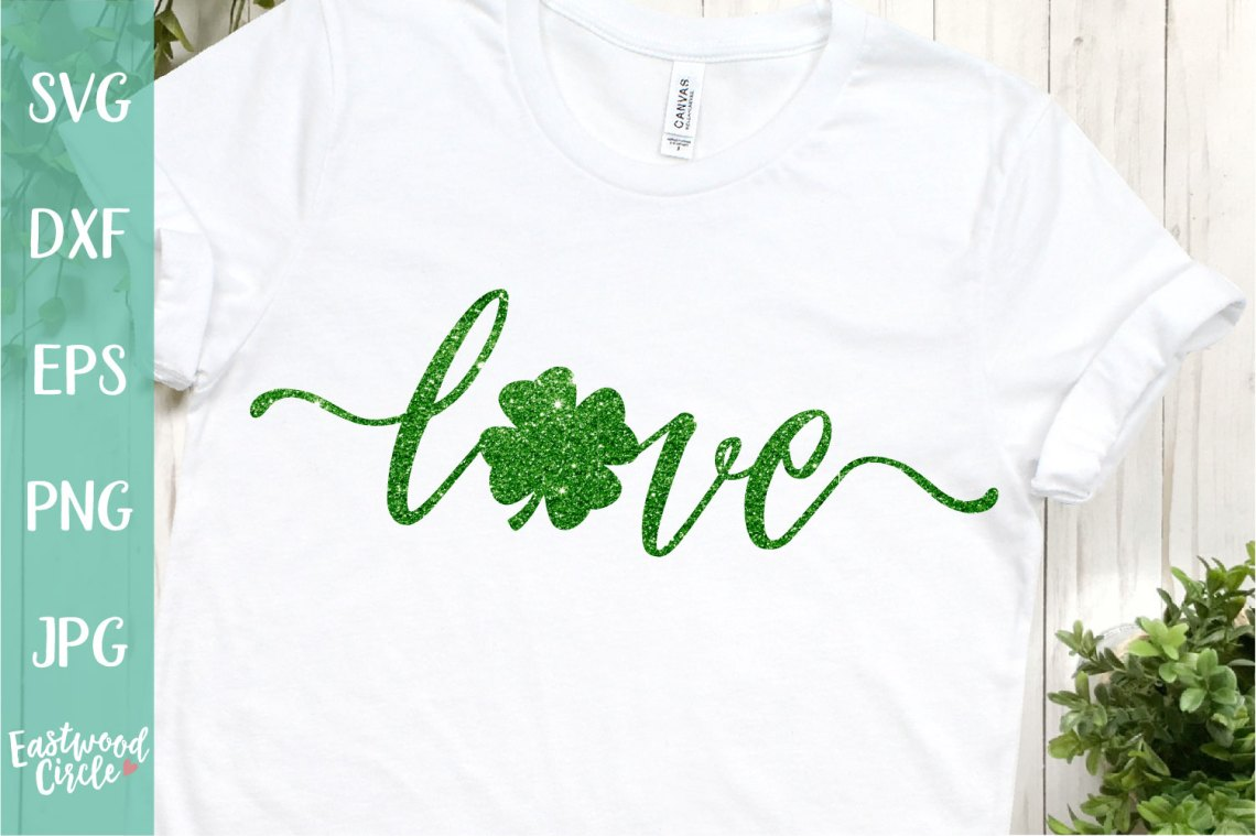 Download Love Shamrock - A St. Patrick's SVG (199196) | SVGs ...