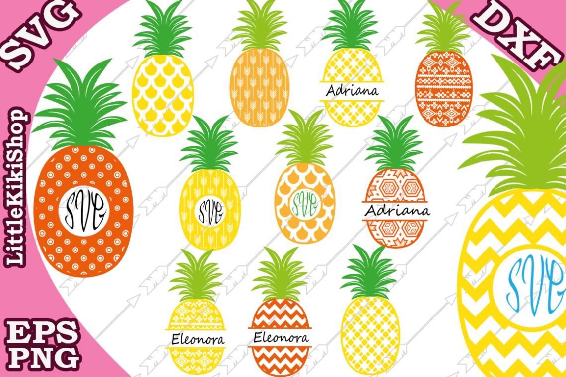 Download Pineapple Svg,Pineapple Monogram Svg,Monogram Frames ...