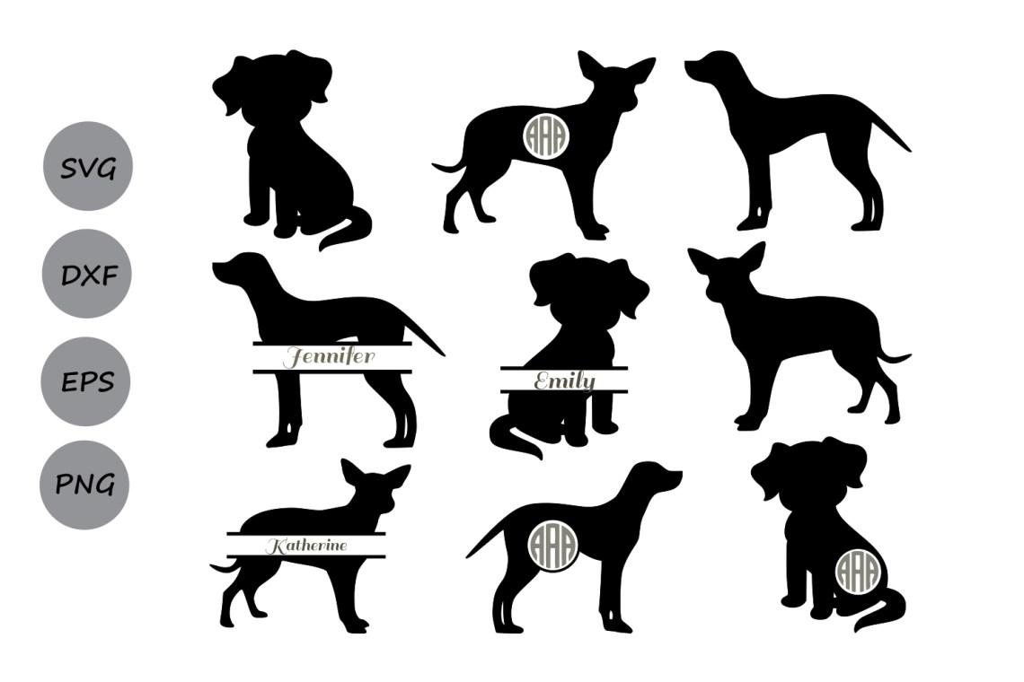 Download Dog SVG, dog monogram svg, Dog silhouette svg, Dog Clipart ...